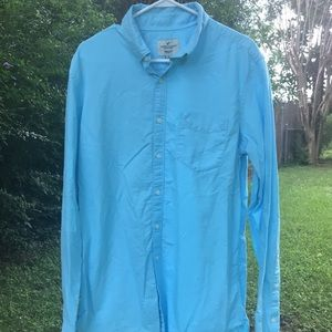 American Eagle Classic Fit Long Sleeve Button Down